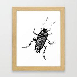 la cucaracha Framed Art Print