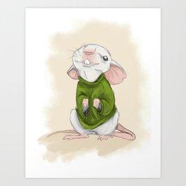 Stuart Little Art Print