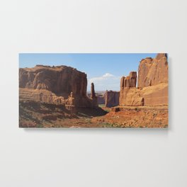 Park Avenue - Arches National Park Metal Print