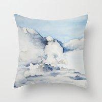 eagle Throw Pillows featuring Eagle by Tara de la Garza