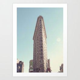 NYC Flatiron Art Print