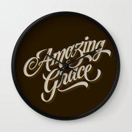 Amazing Grace Wall Clock