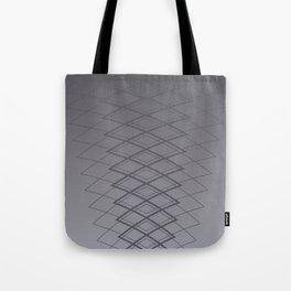 Grid on Steel Tote Bag