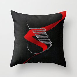 Devils Soul Throw Pillow