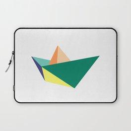 Fune, original colours on white Laptop Sleeve
