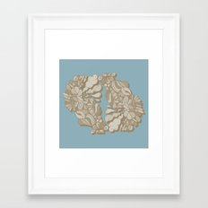 No Sleep, No Shapes. Framed Art Print