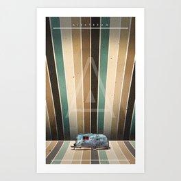 AIRSTREAM Art Print