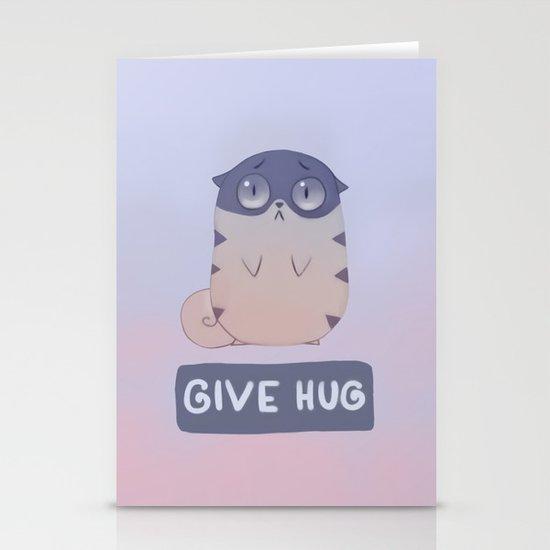 Boggart Hug Stationery Cards