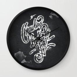 Crawling Wall Clock