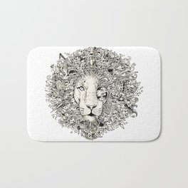 The King's Awakening Bath Mat