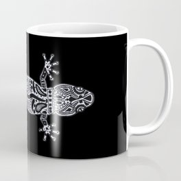 Ornate Lizard (b&w version) Coffee Mug