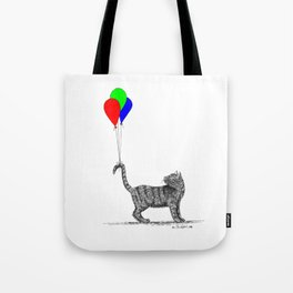 High-Tailing It Tote Bag