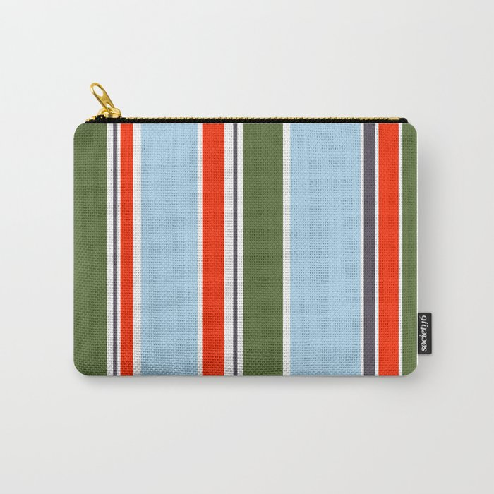 Simply stripes II Carry-All Pouch