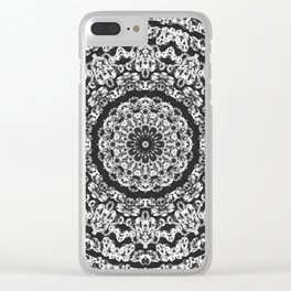 diamond mandala Clear iPhone Case