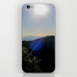Los Angeles view from Runyon Canyon iPhone Skin