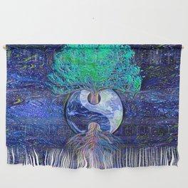 Tree of Life Yin Yang Earth Space Wall Hanging