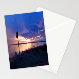 Sunset Chairs Stationery Cards
