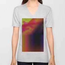 Abstract 12 Unisex V-Neck
