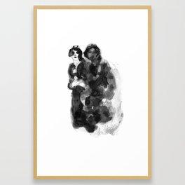 Girls Night Out Framed Art Print