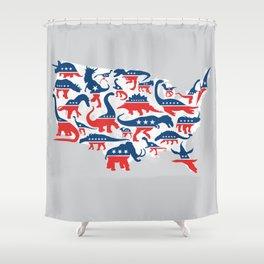 Battleground Shower Curtain