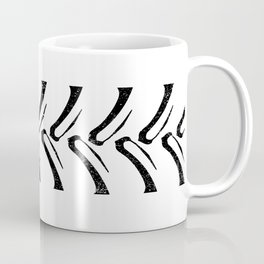 Tractor Tread Grunge Coffee Mug