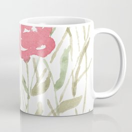 A Bunch Of Red Roses Coffee Mug