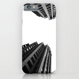 Architecture Minimalism Black and White Photography iPhone Case