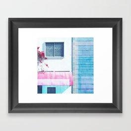 Sunny Canopy Framed Art Print