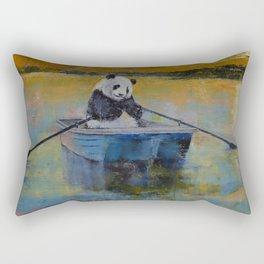 Panda Reflections Rectangular Pillow
