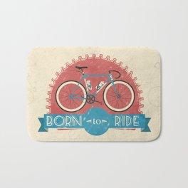 Born to Ride Bath Mat