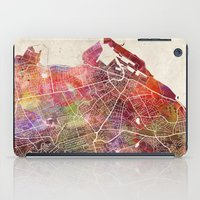 edinburgh iPad Cases featuring Edinburgh by MapMapMaps.Watercolors