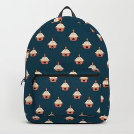 Cupcake on fire Backpack