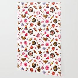 Sweet Sugar Pattern Wallpaper