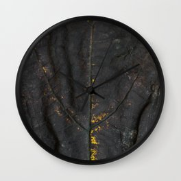 Falling leaf pattern Wall Clock