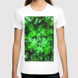 Green burst T-shirt