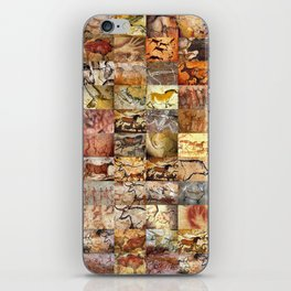 Cave Paintings Montage iPhone Skin