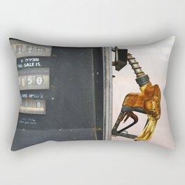 Gas Station Rectangular Pillow