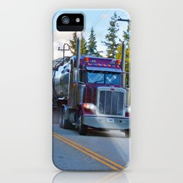 Trans Canada Trucker iPhone Case