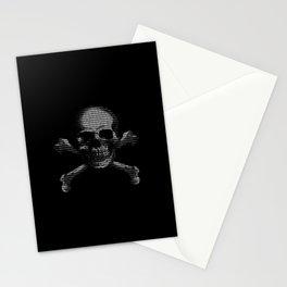 Hacker Skull and Crossbones Stationery Cards
