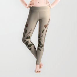 Floral Antler Leggings