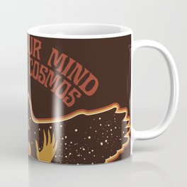 OPEN YOUR MIND TO THE COSMOS Coffee Mug