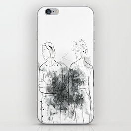 """VADA VADA"" The Garden Wyatt Shears Fletcher Shears iPhone Skin"