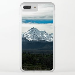 Mt. Shasta Clear iPhone Case