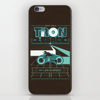 tron iPhone & iPod Skins featuring Tron Legacy by HomePosters