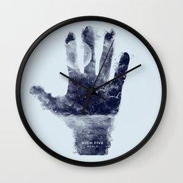 High five world Wall Clock