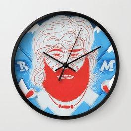 Il Terrore della Montagna Wall Clock