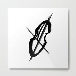 Cello Music Mood Metal Print