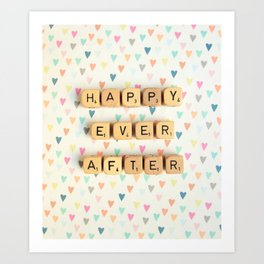 Happy Ever After Art Print