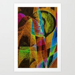 F R O Z Z L E D Art Print