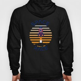 Space Race Occupy Mars Shuttle Explore Rockets Hoody